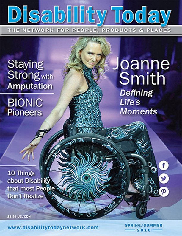 Disability Today Magazine Joanne Smith Cover