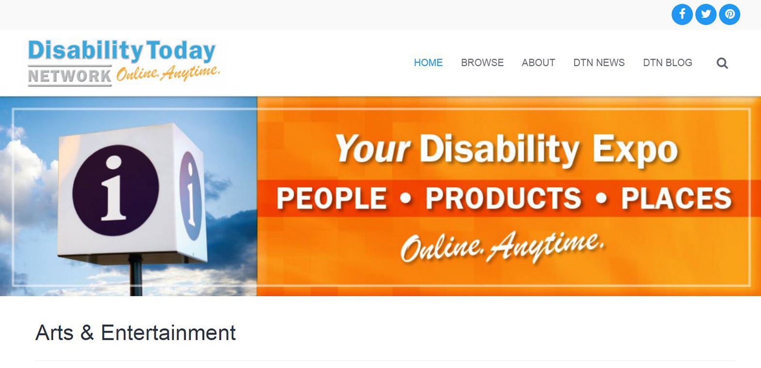 Disability Today Network